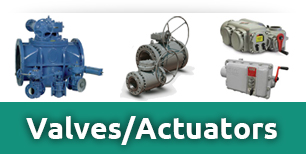 button valves actuators